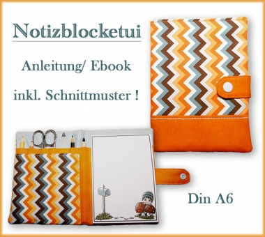 Notizblock-Etui