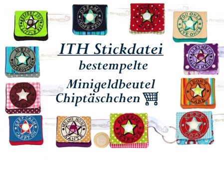 Minitäschchen Chiptasche Anhänger Vol. 1