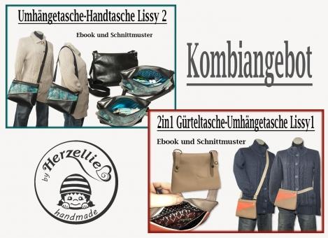 Gürteltasche Handtasche Ebook Schnittmuster Kombiangebot