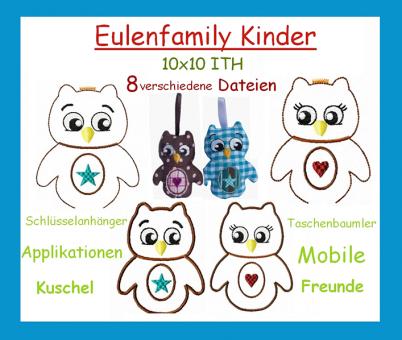 Eulen-Kinder-Family