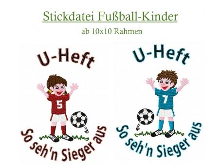 Fußballer Kicker Sportler klein und groß