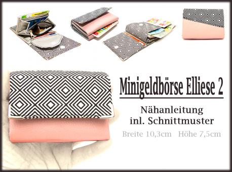 Nähanleitung Mini-Geldbörse Elliese2