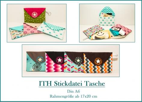 Tasche-Umschlag für Grußkarten, Kosmetik und mehr DIN A6