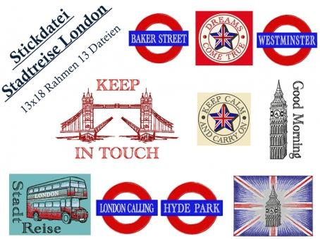 Stadtreise London-Great Britain England groß