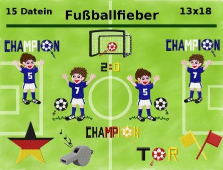 Fußballfieber Kicker Sportler