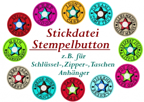 Stempel-Button-Applikation